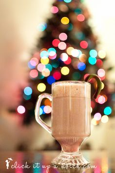 Christmas tree light bokeh tips from Click it up a notch #photography