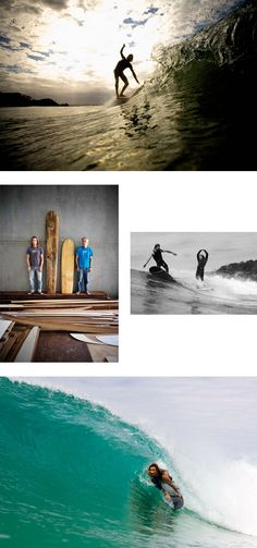 The Joske family , surfboard craftsmen from Valla surfboards