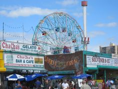 coney island....fond memories with my grandparents