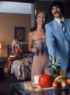 A taste of the exotic: In the Seventies, dinner parties allowed hosts to show off their sophisticated tastes for ingredients they'd discover...