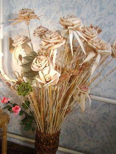 ideas con flores secas