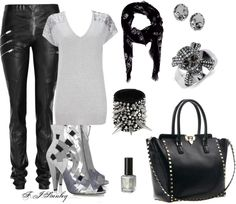"""""""Flashy Grit"""" by fiona-stanley on Polyvore"""