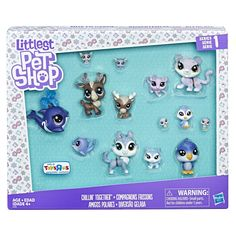 Littlest Pet Shop Chillin' Together Pet Pack