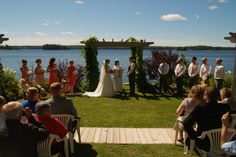 Viamede Resort specializes in intimate, luxurious weddings of up to 80 people. Every detail of a wedding should celebrate you and our Boldly Different appro . Peterborough, Vacation Spots, Luxury Wedding, Ontario, Wedding Venues, Dolores Park, Relax, Activities, Places