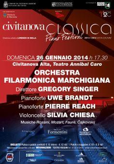 #Concerto per 2 #pianoforti #violoncello solista #orchestra #CIVITANOVACLASSICA @FORMorchestra http://www.tdic.it/dettaglio.asp?id=829