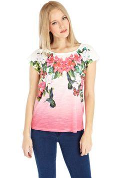 Tropical bird t-shirt