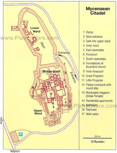 Greek Art / Citadel of Tiryns