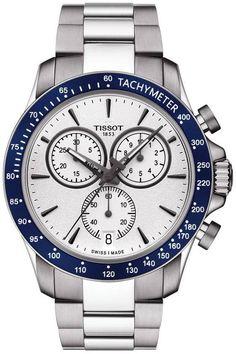 @tissot Watch V8 #add-content #basel-16 #bezel-fixed #bracelet-strap-steel…