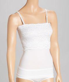 d5ee89f877a White Convertible Shaper Camisole - Women  amp  Plus