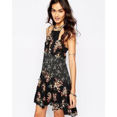 NWT Free People floral slip Brand new. Cannot be bundled. Free People Dresses