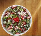 Creamy Strawberry Broccoli Salad