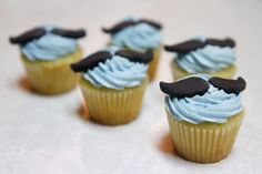 A great fundraising idea...trying holding a mo cupcake/bake sale at your school or work.