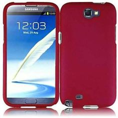 New Samsung Galaxy Note 2 Snap on Hard Cover Case Rose Pink | eBay