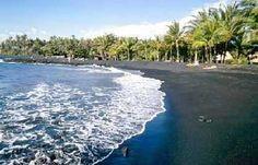 Black Sand Beach, Kailua-Kona