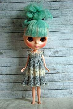 Blythe Doll Knitted Dress