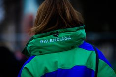 Street style à la Fashion Week haute couture printemps-été 2017 | #Balenciaga #Fall16 #StreetStyle