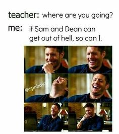 supernatural, dean, and dean winchester image