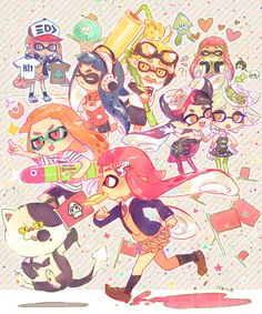 God please let me be a squid in my next life くコ:彡