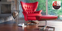 In 1962 G Plan created an iconic swivel chair. It was aptly known as 'The World's Most Comfortable Chair'.   And now, renamed as The Sixty Two, it's distinctive winged design, soft foam cushioning and deeply buttoned back, provide the ultimate in comfort.   For added luxury it rocks and swivels too. It's a chair that merits its original title