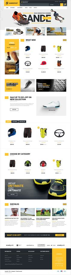 Lexus GrandeSport is a creative and powerful 6in1 #Opencart template designed for #webdev Sport store #eCommerce website download now➩ https://themeforest.net/item/lexus-grandesport-advanced-opencart-theme-for-sport-website/19198244?ref=Datasata