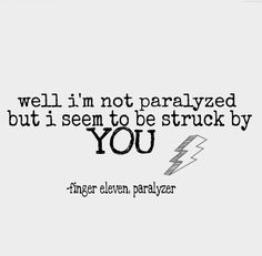 paralyzer by finger eleven lyrics