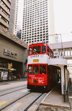 Hong Kong Tram to Causeway Bay