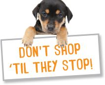 I pledge that if a pet store sells puppies, I won't buy anything there.