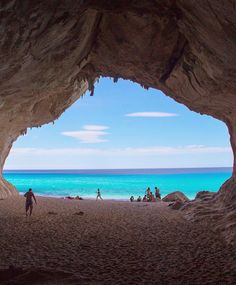 Die with memories, not dreams.  Cala Luna in sunny Sardinia by @thiago.lopez…