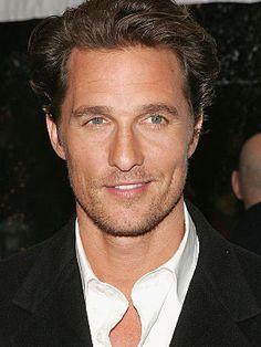 50 Most Handsome Men Matthew McConaughey! people i friggin LOVE Logan Lerman, Most Handsome Men, Raining Men, Matthew Mcconaughey, Amanda Seyfried, Livingston, Good Looking Men, Best Actor, Famous Faces