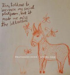 Draw Two, Sweet Soul, Social Platform, Oregon Usa, Butterfly, Animal Illustrations, Donkeys, Ear, Drawing