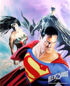 more-like-a-justice-league: DC TRINITY