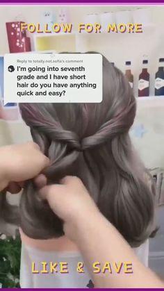 Armpit Length Hair, Shoulder Length Hairdos, Shoulder Hair, Short Hair Hacks, Short Hair Styles Easy, Medium Layered Hair, Medium Short Hair, Mid Length Hair Styles For Women