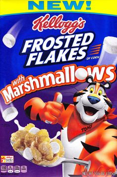 Frosted Flakes With Marshmallows (Kellogg's; 2016)