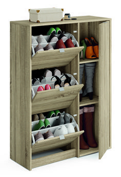 56 Shoes Storage Rack Design Ideas The next issue whenever you are searching for a shoe rack is the storage capacity. Additionally, additionally, it has to […] Diy Shoe Rack, Shoe Storage Cabinet, Storage Cabinets, Shoe Racks, Shoe Rack Furniture, Home Furniture, Dream Furniture, Bedroom Closet Design, Closet Designs
