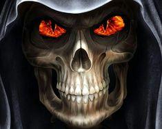 Reaper Evil Skull Horror Wallpaper and Picture   Imagesize: kilobyte