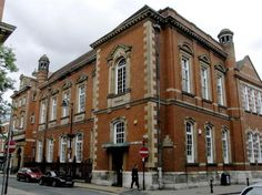 Central Library, Bishop Street, Leicester. My second home :)
