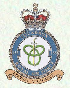 #155 Squadron formed at RAF Chingford on 14 September 1918 as a bomber unit with Airco DH.9As after an earlier decision to form at RAF Feltham was abandoned. In mid-September 1945, the squadron flew to Singapore soon after the Japanese surrender and in February 1946, moved to Sumatra to provide tactical support for the British Army units there until disbanded on 31 August 1946. On 3 June 1959, it merged with #194 Squadron RAF to form #110 Squadron RAF.