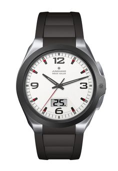 Junghans Watch Spektrum Mega Solar Watch available to buy online from with free UK delivery. Gents Watches, Seiko Watches, Cool Watches, Most Popular Watches, Solar Watch, Junghans, Watch Blog, Digital Radio, Luxury Watches For Men