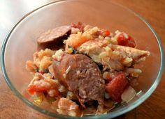 Chicken and Sausage Jambalaya- Cooking Light