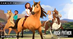 Trailer: DreamWorks' Netflix Original Series SPIRIT RIDING FREE via @therockfather