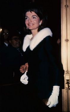 Jackie Kennedy...Post-Camelot Looking Lovely In NYC...