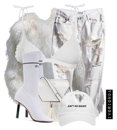 io by ivorionda on Polyvore featuring polyvore, fashion, style, Neiman Marcus, Made By Dawn, Vetements, Yoki and clothing