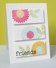Stamping & Sharing: Make Time For Friends