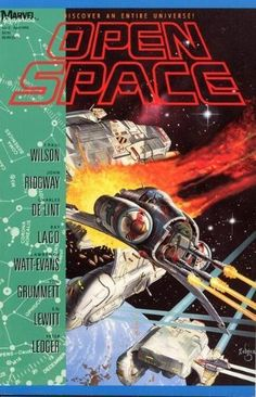 OPEN SPACE No.2  APR '90 #Marvel Graphics #SciFi http://www.amazon.com/dp/B007Z42LPG/ref=cm_sw_r_pi_dp_FyEqsb01QRX78V1H