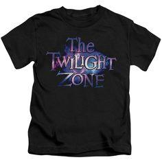Twilight Zone/Twilight Galaxy Short Sleeve Juvenile T-Shirt in