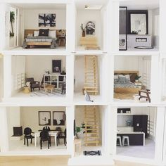 Image result for modern dollhouse