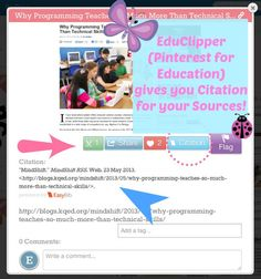 Kleinspiration: If you like Pinterest and Edmodo, you'll love eduClipper!