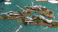Cheap and Easy Obstacles Terrain using tree roots (Dead Trees)