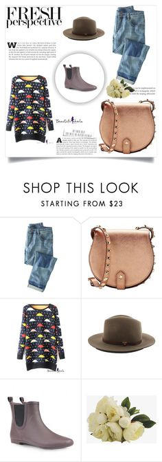 """Beautifulhalo #26"" by ljubicica988 ❤ liked on Polyvore featuring Mode, Wrap, Rebecca Minkoff, rag & bone und bhalo"