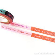 Washi tape #scrapbook #regalos #tiendaonline #aperfectlittlelife ☁ ☁ A Perfect Little Life ☁ ☁ para ver más productos nuestros visita nuestra web: www.aperfectlittlelife.com ☁